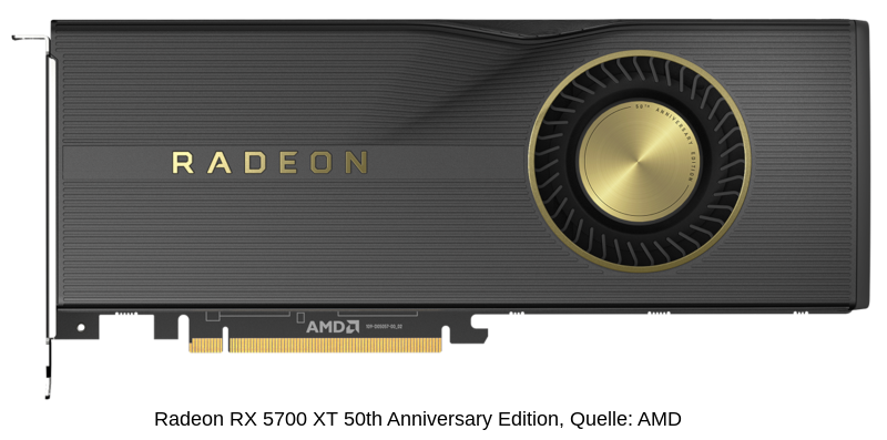 AMD Radeon RX 5700XT 50th Anniversary Edition