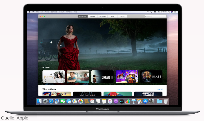 macOS Catalina: Apple TV
