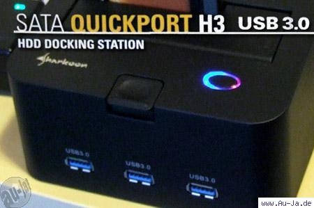 Sharkoon SATA QuickPort H3 USB3.0