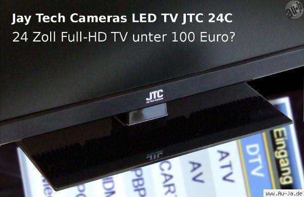 au ja full hd tv unter 100 euro jay tech cameras led tv jtc 24c. Black Bedroom Furniture Sets. Home Design Ideas
