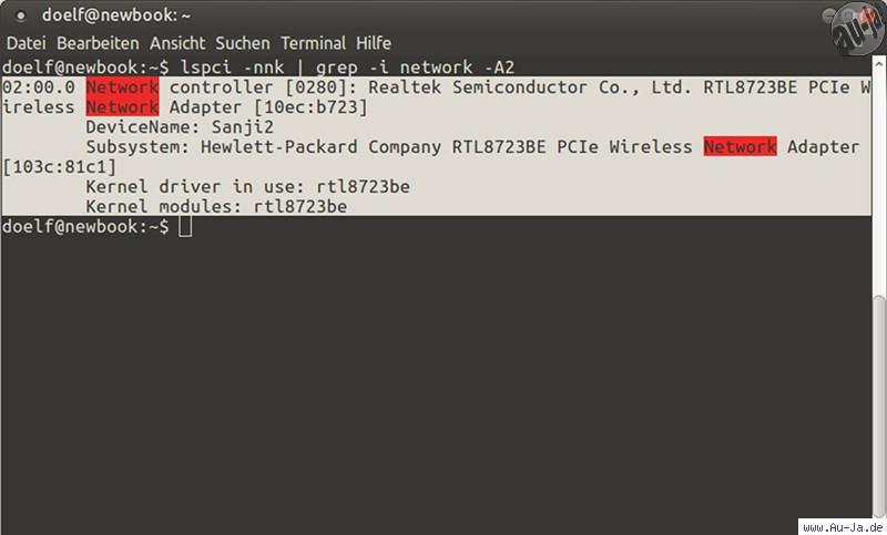 Au-Ja! - Anleitung: Realtek WLAN und Bluetooth unter Linux